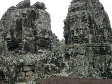 Sur la terrasse du temple de Bayon