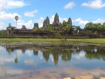 Le temple d'Angkor Wat